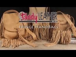 tandy leather s new fringe bag kits