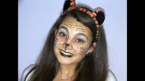 simple tiger halloween makeup you