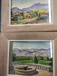 2 Watercolors Inez Smith York Pa | Antiques Board