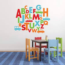 Alphabet Wall Decal Car Stickers Db354 Designedbeginnings