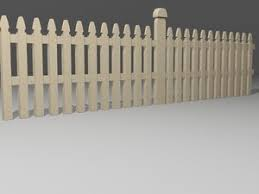 Free 3d Fence Models Turbosquid