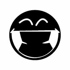 Smile Vinyl Decal Sticker