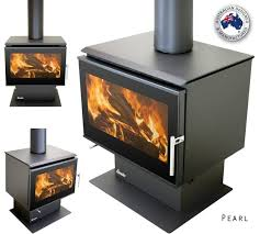 eureka pearl freestanding wood heater