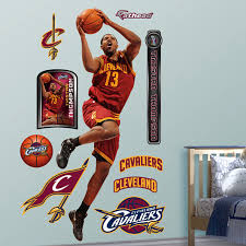 Tristan Thompson Cleveland Cavaliers Detroit Lions Kids Room Wall Decals Chucks