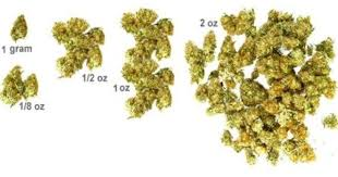 grams eighths quarters