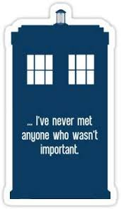 Amazon Com Chili Print Doctor Who Tardis With Quote Sticker Graphic Bumper Window Sicker Decal Doctor Who Dr Who Sticker Automotive