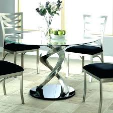 small glass dining table for two
