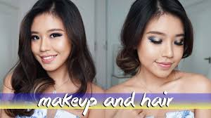 graduation makeup and hair