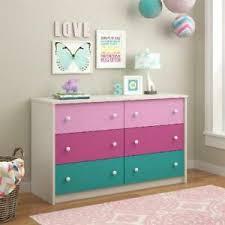 Whimsy Finish Dresser W 6 Drawer Nursery Kids Room Clothes Storage Organizer 29986588968 Ebay