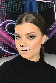cat halloween makeup 6 s to