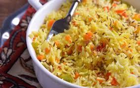 arroz basmati con verduras en thermomix