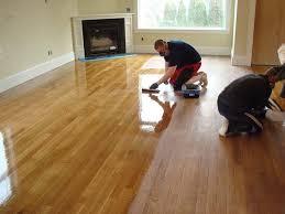 remove urine from hardwood floors