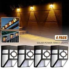 Waterproof 6led Solar Lights Wall Light Outdoor Garden Yard Lamp Fence Light Buy At A Low Prices On Joom E Commerce Platform