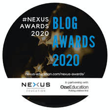 Abigail Hawkins, nominated for a NEXUS award - Learning Plans & Provision  Map Writer