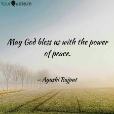 god bless us the quotes writings by ayushi rajput