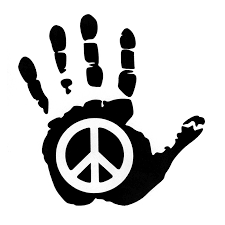 14 5cm 15cm Peace Sign Hand Vinyl Car Sticker Motorcycle Decals Black Silver S6 3273 Motorcycle Decals Stickers Motorcycle Decalssticker Motorcycle Aliexpress