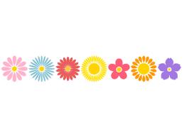 花マークの無料イラスト素材|イラストイメージ