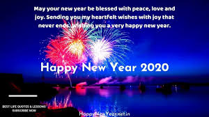 best happy new year wishes and quotes for new year