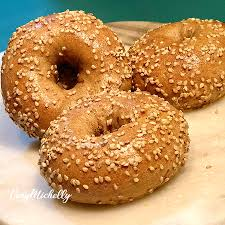 2 ing dough whole wheat bagels