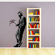 Shop Banksy Man Waiting His Date Wall Decal Sticker Mural Vinyl Art Home Decor Overstock 12834294
