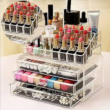 makeup drawer holder jewellery case box