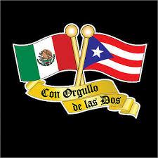 Puerto Rico Mexico Flag Car Decal Sticker 273m Ebay