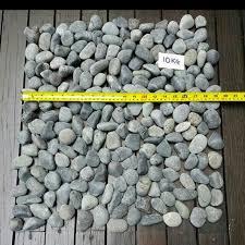 reduced grey pebbles stones