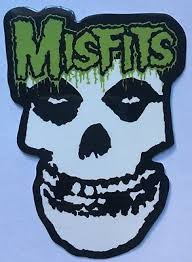 X2 Misfits Music Band Logo Decals Car Bumper Stickers Ebay