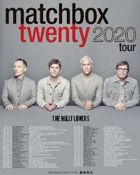 "Matchbox Twenty on Twitter: ""Fanclub members can purchase tickets beginning  Tues., Jan. 14 at 10 am ET. Tickets go on sale Fri., Jan. 17 at 12 pm ET at  https://t.co/814896sjL8. #MB2020… https://t.co/ZWYUoxfmk4"""