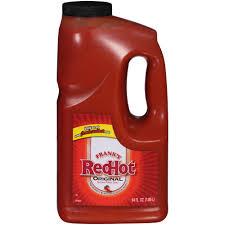 redhot original hot wing sauce 64 oz