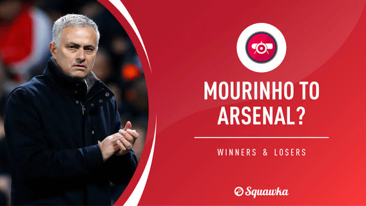 Image result for mourinho to arsenal""