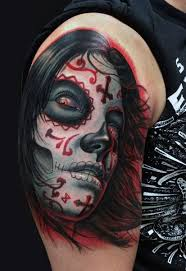70 day of the dead tattoos for men