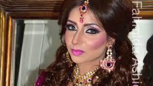 bridal makeover inspired by naeem khan