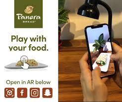 panera bread experiments with ar for