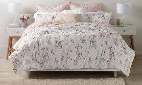 fl pintuck oversized comforter or