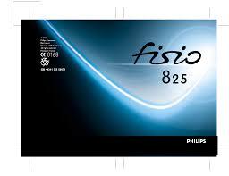 Philips Fisio 825 User Manual