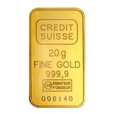 20g credit suisse gold bar 9999 rizan