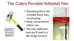 portable indoor outdoor volleyball nets