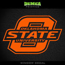 Oklahoma State Cowboys Ncaa Logo Vinyl Decal Sticker