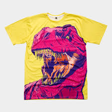 dino frenzy all over mens t shirt by