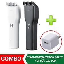 FREESHIP XTRA】[TẶNG 01 CỐC SẠC USB] Tông đơ điện cắt tóc gia đình Xiaomi  Enchen Boost - Tăng đơ hớt tóc không dây cao cấp siêu bền I Tiện dụng CHÍNH  HÃNG