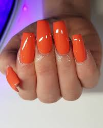 50 orange nail ideas to make you stun