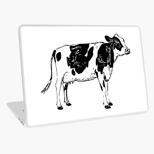 Lookout Cow Ipad Case Skin By Davidcaddy Redbubble