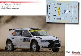 Pontus Tidemand Skoda Fabia R5 Evo Rally Mexico 2020 Rally Decals Shop
