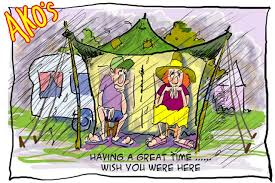 Christmas Camping | Ako's Cartoons
