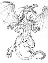 really cool dragon drawings images