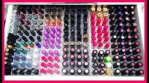 my makeup collection tour 2019 carli