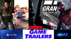 PS5 New Game Trailers - 5 New Games ...