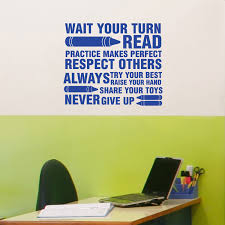 Classroom Rules Wall Decals Stickers Graphics