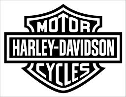 Harley Davidson Motorbike Logo Wall Sticker Decal Wall Sticker Usa